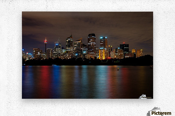 Colors of Sydney  Metal print