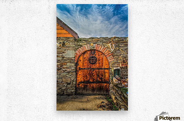 Entryway to Paradise  Metal print