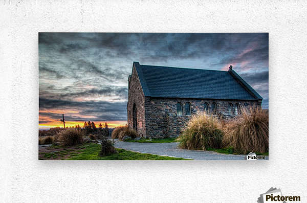 Church of the Good Shepherd  Metal print