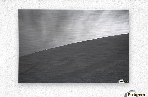 Whiteout  Metal print