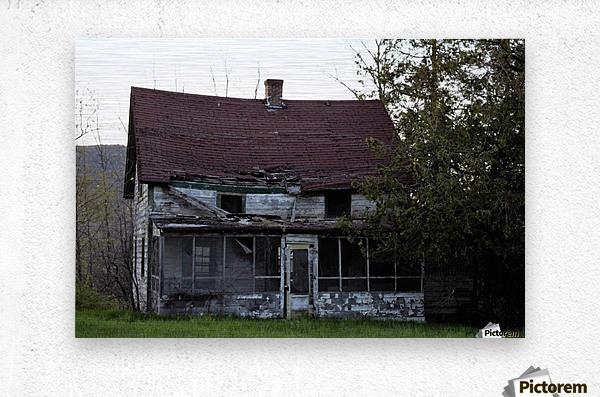 Rural Decay II  Metal print