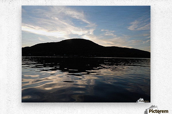 Ancient Hills, Open Water   Metal print
