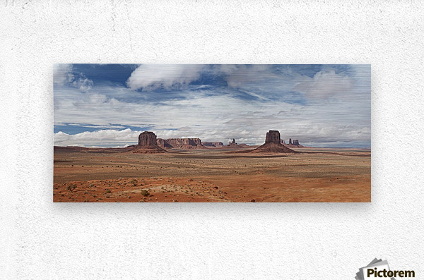 Monument Valley 1  Metal print