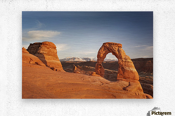 Arches National Park 1  Metal print