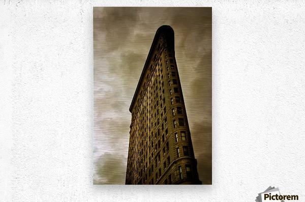 New York Flatiron Building  Metal print