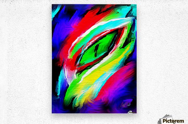 eyee  Metal print