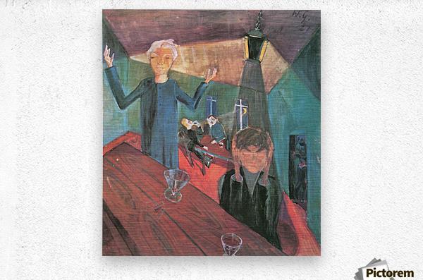 Trinker by Walter Gramatte  Metal print