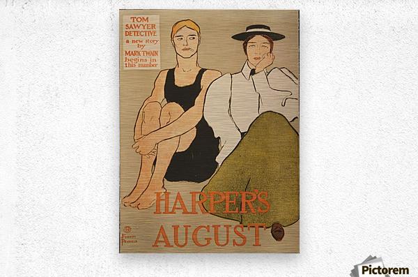 Harpers August  Metal print