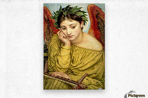 Erato, Muse of Poetry  Metal print
