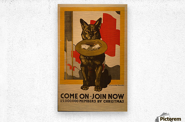 Join now  Metal print