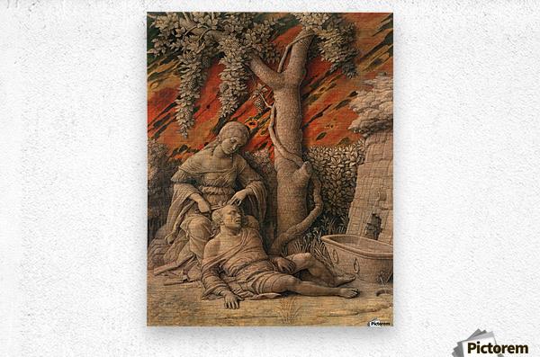 Samson and Delilah  Metal print