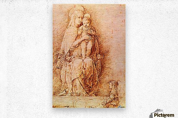 Madonna and Child  Metal print