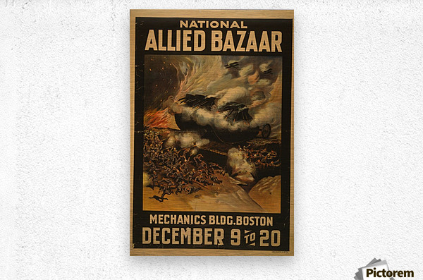 National Allied Bazaar  Metal print