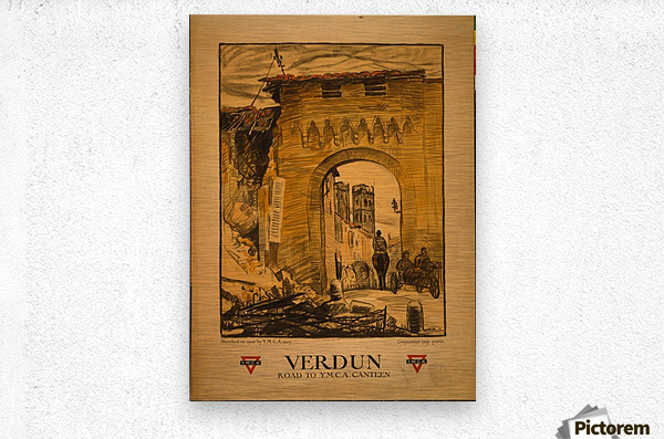 Verdun  Metal print