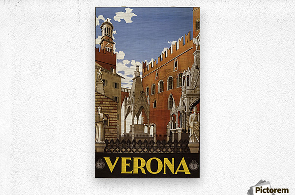 Verona  Metal print