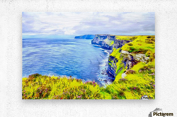 CLIFFS OF MOHER 1 AZO  Metal print