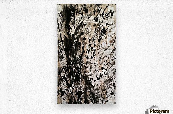 Obsession in Progress 2  Metal print