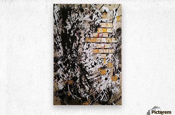 Obsession  Metal print