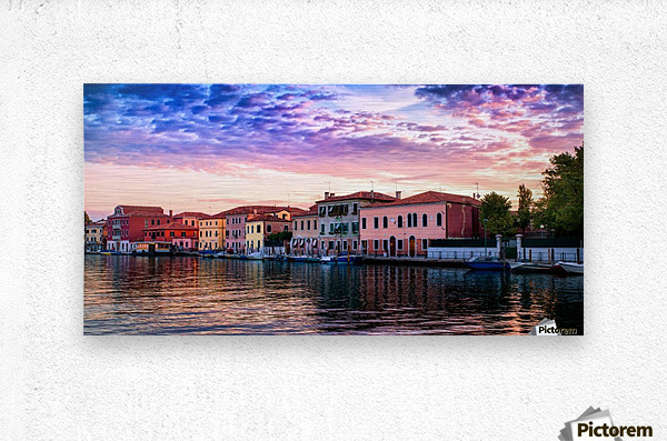 Murano Morning  Metal print