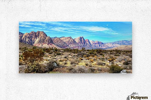 Red Rock Canyon  Metal print