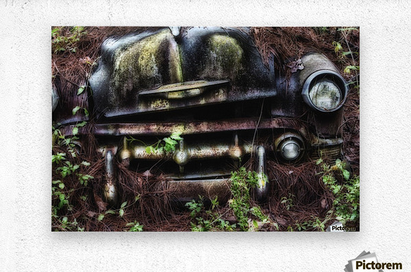 Old Car City   Metal print