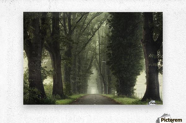 Tunnel of inner calmness  Metal print