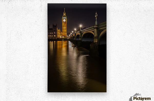 Houses of Parliament, London  Metal print