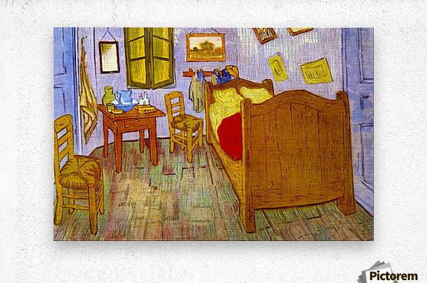 Bedroom at Arles by van Gogh  Metal print