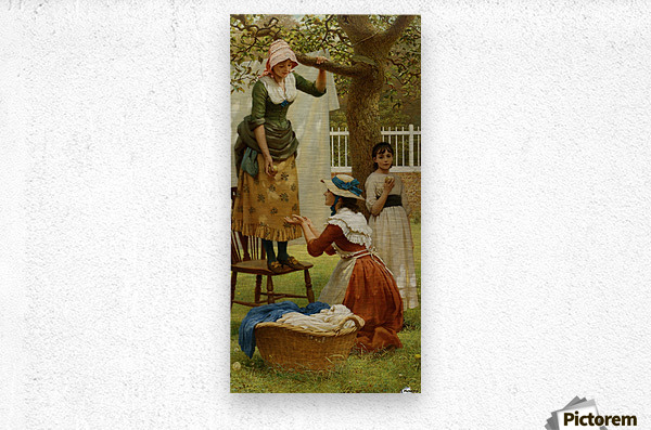 The Daughters of Eve  Metal print