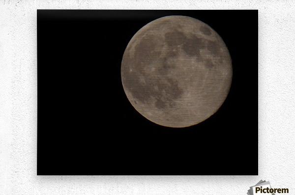 Super Moon 4  Metal print