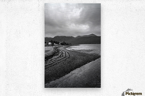 Little House on Skye  Metal print
