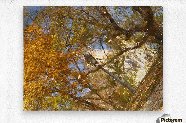 Autumn Reflections I  Metal print