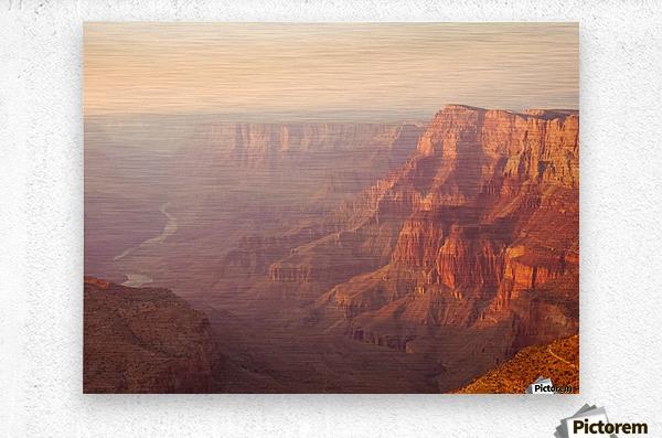 Red Canyon  Metal print