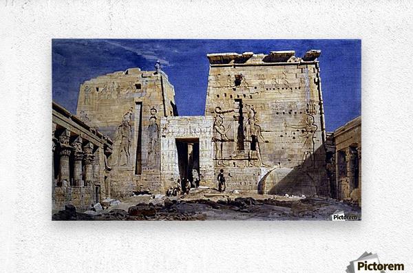 Temple of Isis at Philae  Metal print