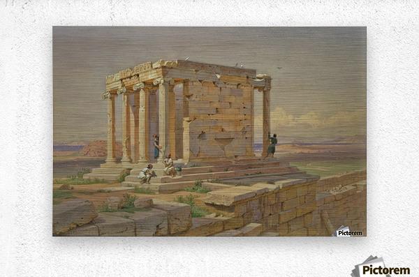 The Temple of Athena Nike  Metal print