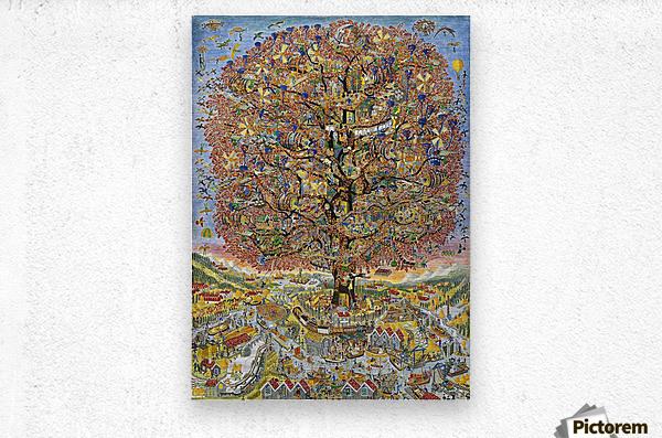 Treet - The tree  Metal print