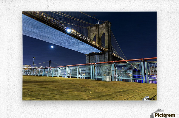 The Brooklyn Bridge 0  Metal print