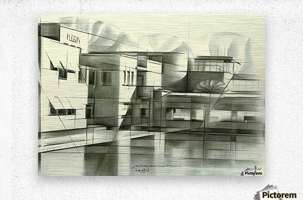 gemeentemuseum - 05-08-16  Metal print