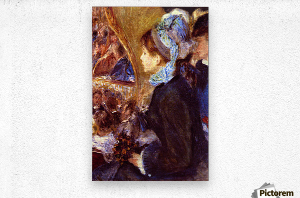 Le Cafe Concert by Renoir  Metal print