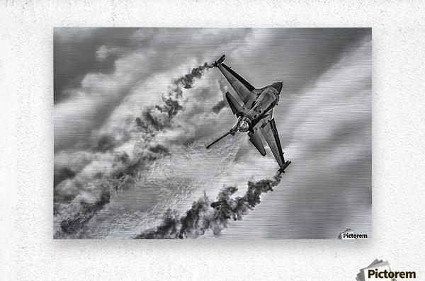 F-16 Solo Turk...  Metal print