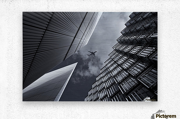 Skyway  Metal print