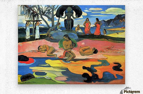 Mohana no Atua by Gauguin  Metal print