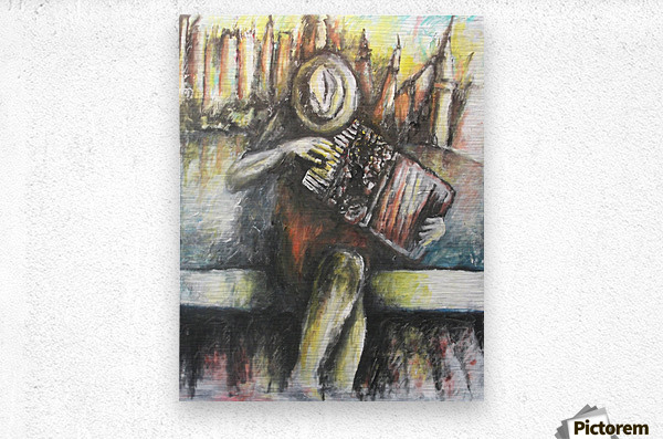 Tango by New York  Metal print