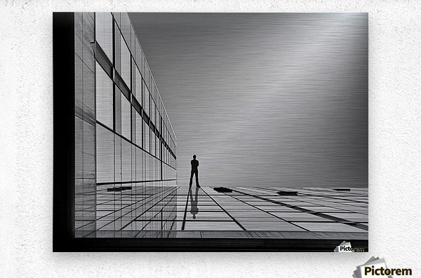 The evolution of space ...  Metal print