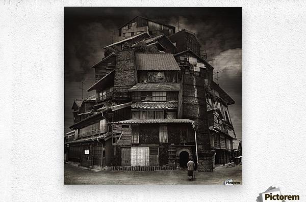 Big old house  Metal print