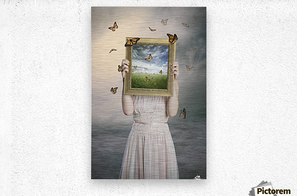 Set them free  Metal print