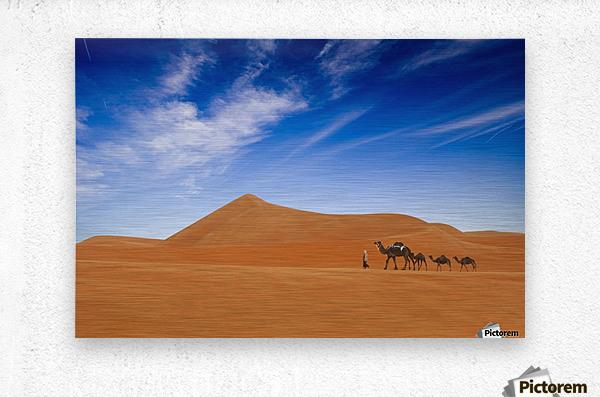 Desert Life ..  Metal print