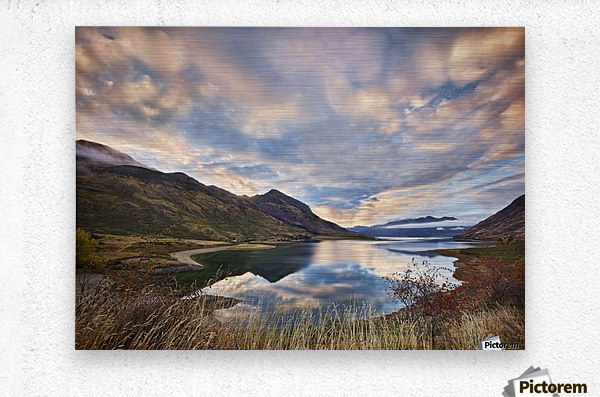 Morning Delight at Lake Hawea  Metal print