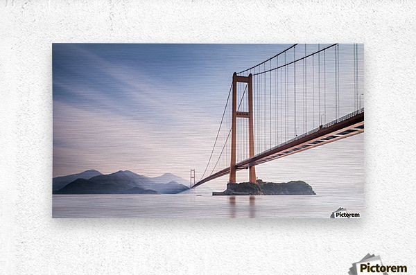 Xihou Bridge & Moon Bay  Metal print