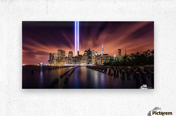 Unforgettable 9-11  Metal print